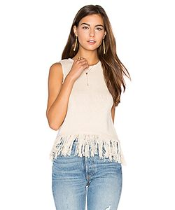 Callaghan | Fringe Crop Sweater Tank Callahan