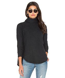 Bella Luxx | Plush Rib Funnel Neck Pullover Sweater