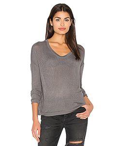 Bella Luxx | Sheer Rib Pullover Top