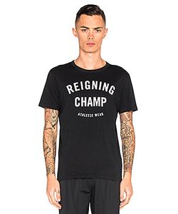 Reigning Champ | Gym Logo Tee