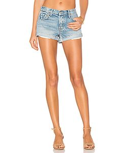 GRLFRND | Adriana Mid-Rise Slouchy Short Tacked And Rolled