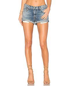 GRLFRND   X Revolve Adriana Mid-Rise Slouchy Shorts