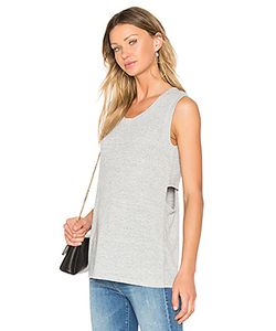 Bobi | Faded Crew Neck Tank