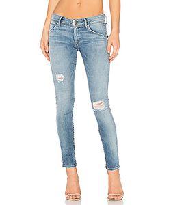 Hudson Jeans | Джинсы Скинни Средней Посадки Collin