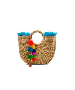 Jadetribe | Fringe Tassel Small Basket