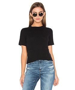Autumn Cashmere | Ribbed Boxy Tee