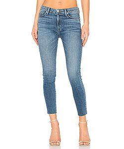 Hudson Jeans | Barbara Frayed Hem Super Skinny