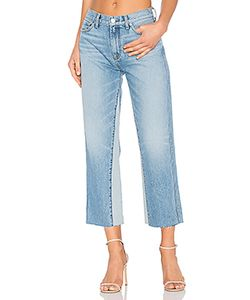 7 for all mankind | Kiki With Frayed Hem