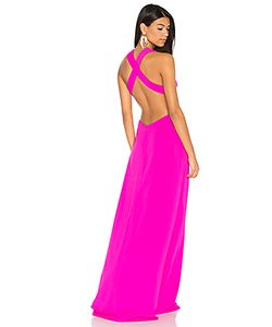 JILL JILL STUART | Вечернее Платье С Перекрестными Шлейками На Спине