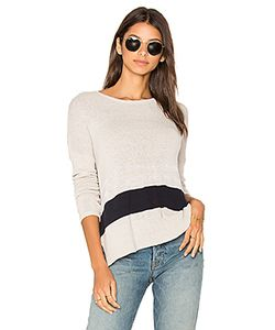 James Perse | Stripe Oversize Pullover