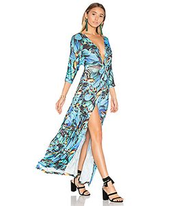 AGUADECOCO | Mesh Long Dress
