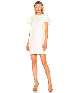 Edit | Frill Sleeve Smock Yoke Mini Dress