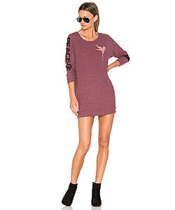 Lauren Moshi | Bel Long Sleeve Pullover Sweatshirt Dress