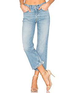 GRLFRND   Linda High-Rise Pop Crop Jean