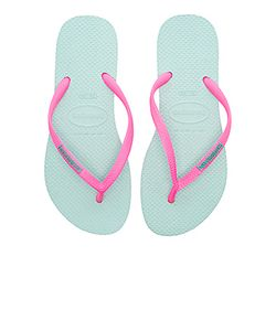 Havaianas | Slim Logo Pop-Up Sandal