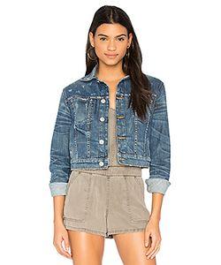 Hudson Jeans   Укороченная Джинсовая Куртка Garrison