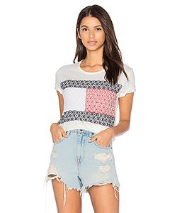 Hilfiger Collection | Daisy Lace Flag Tee