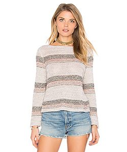 Autumn Cashmere | Chevron Crop Sweater