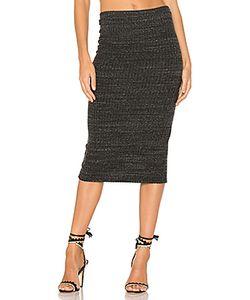Monrow | Rib Pencil Skirt