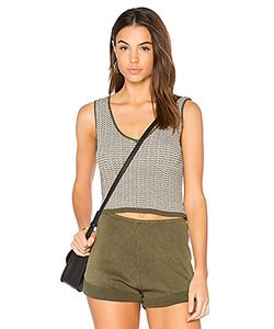 Callaghan | Stripe Mini Crop Tank