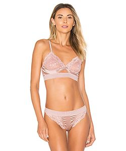 else | Lilly Silk Lace Triangle Soft Cup Cut Out Bra