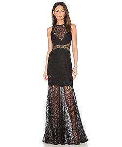 Nicholas | Lace Cutaway Gown