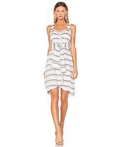 Derek Lam 10 Crosby | Tie Front Stripe Dress