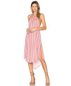 Minkpink | Платье Холтер Haiti Cold Shoulder