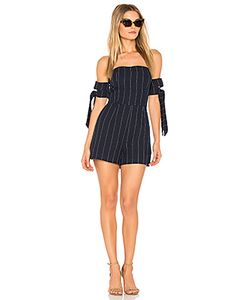 J.O.A. | Tie Sleeve Off The Shoulder Romper J.O.A.