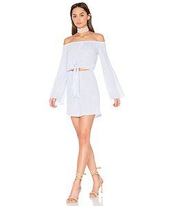 L'Academie | X Revolve The Tie Front Off Shoulder Dress