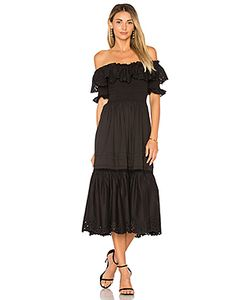 Rebecca Taylor | Off Shoulder Nouveau Eyelet Dress