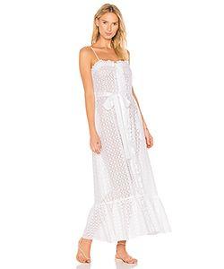 Lisa Marie Fernandez | Button Down Ruffle Slip Dress
