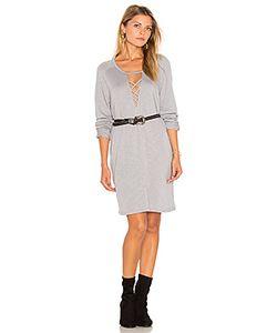 Lanston | Платье Свитшот На Шнуровке