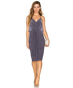 MISA Los Angeles   Платье Миди Domino