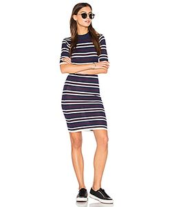 J.O.A. | Bodycon Stripe Dress J.O.A.