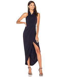 Shona Joy | Платье С Высоким Воротом