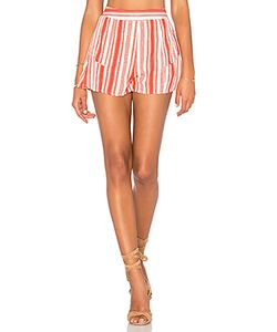 Band of Gypsies | Striped Ruffle Short
