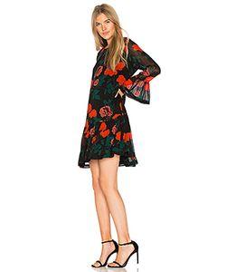 Ganni | Платье Из Жоржета Newman