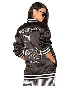 KENDALL + KYLIE | Куртка-Бомбер С Вышивкой Cali