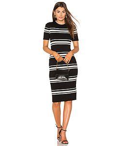 Minkpink | Stripe Rib Sweater Midi Dress