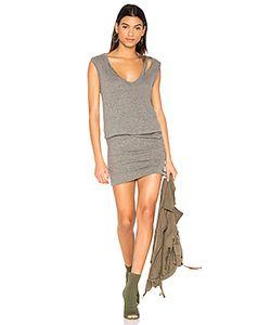 PAM & GELA | Slash Neck Ruched Dress