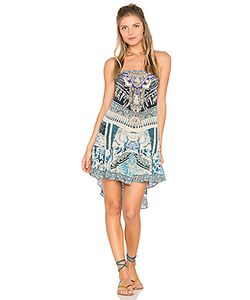Camilla | A Line Frill Dress