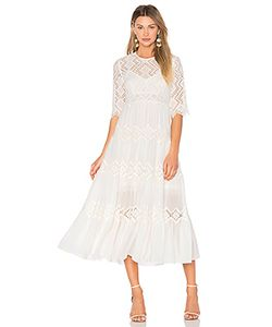 Zimmermann | Oleander Diamond Lace Tier Dress