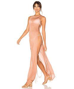 Minkpink | Макси-Платье Из Джерси С Отделкой Сеточкой Ember