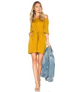Chaser   Cool Jersey Off Shoulder Dress