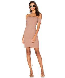 NYTT | Rib Off Shoulder Dress