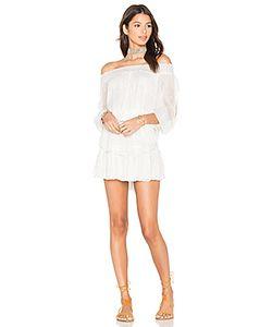 LoveShackFancy | Smocked Ruffle Mini Dress