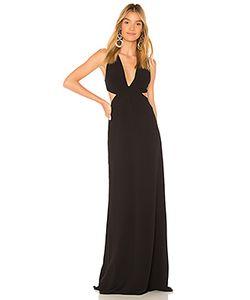 Halston Heritage | Вечернее Платье С Вырезом Deep V Neck