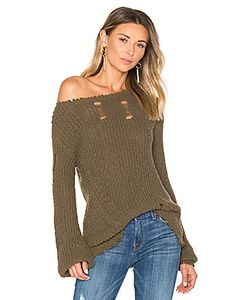 PAM & GELA | Shredded Wavy Sweep Sweater