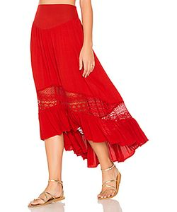 Band of Gypsies | Ruffle Hem Skirt